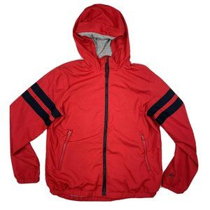 GapKids Boys Red Jersey Lined Windbuster XL
